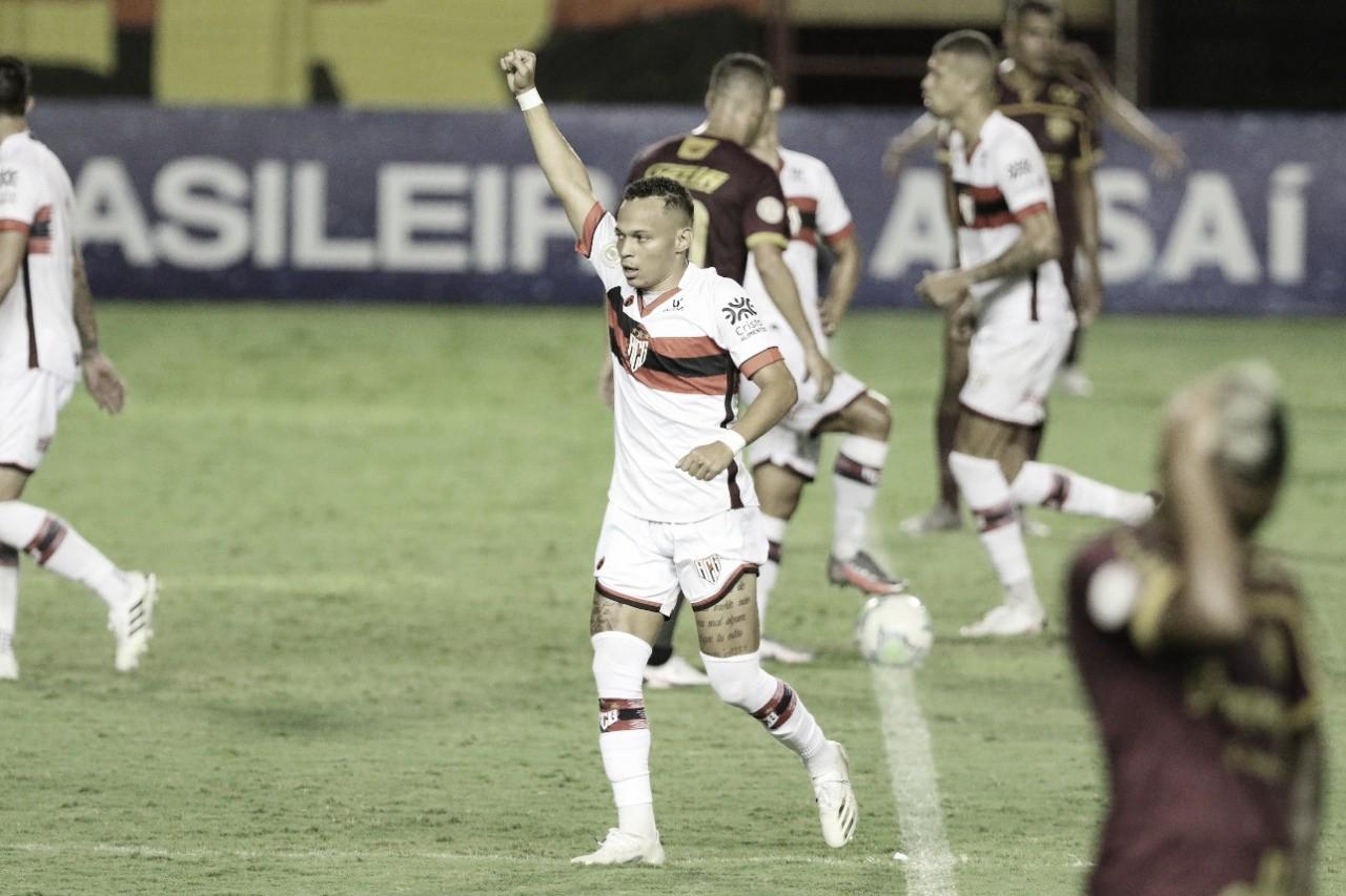 Atlético-GO volta a vencer após jejum de cinco jogos; Sport se aproxima do Z-4