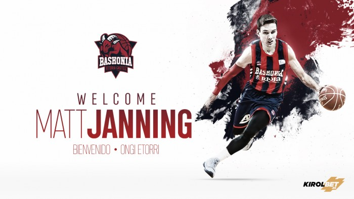 Matt Janning ficha por Baskonia para los dos próximos meses
