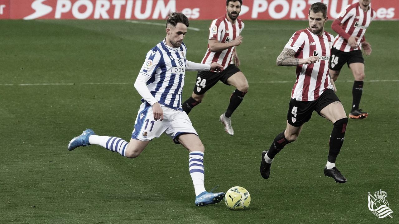 Real Sociedad - Athletic Club: puntuaciones de la Real Sociedad, jornada 29 de La Liga