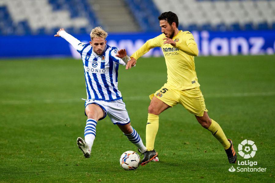 Januzaj disputa un balón en el pasado encuentro frente al Villarreal. LaLiga