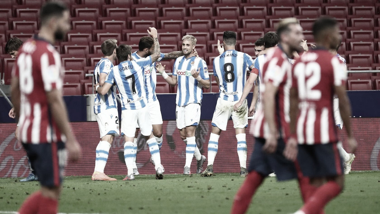 Real Sociedad arranca empate no final contra Atlético de Madrid e se classifica à Europa League