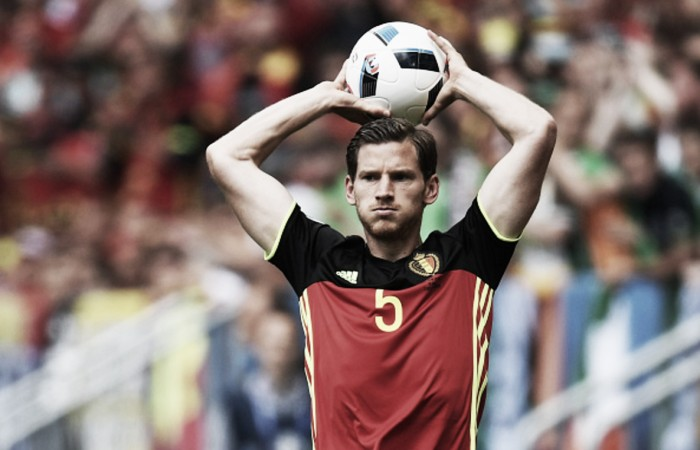 Jan Vertonghen ruled out for the remainder of Belgium's Euro 2016 campaign with ankle injury
