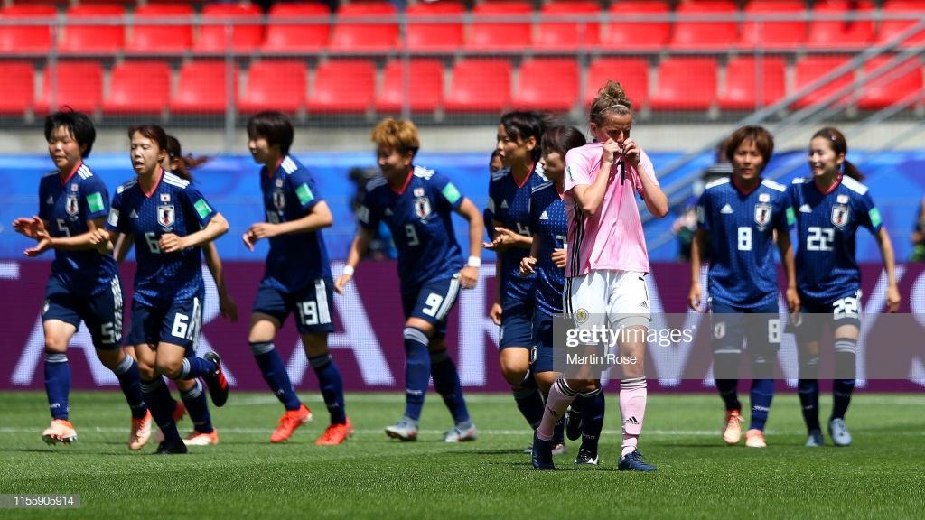 Japan 2-1 Scotland: Scots left feeling blue