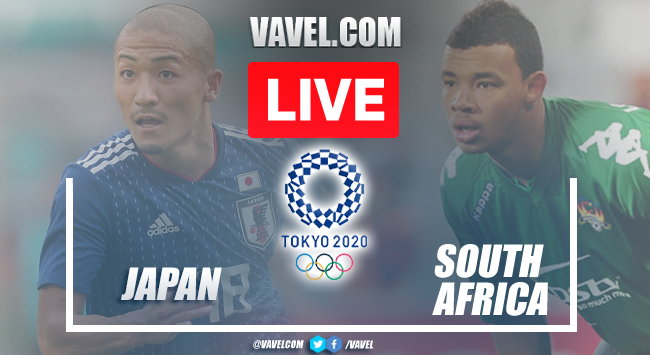 Goal and Highlights of Japan 1-0 South Africa on Olympic Games Tokyo 2020