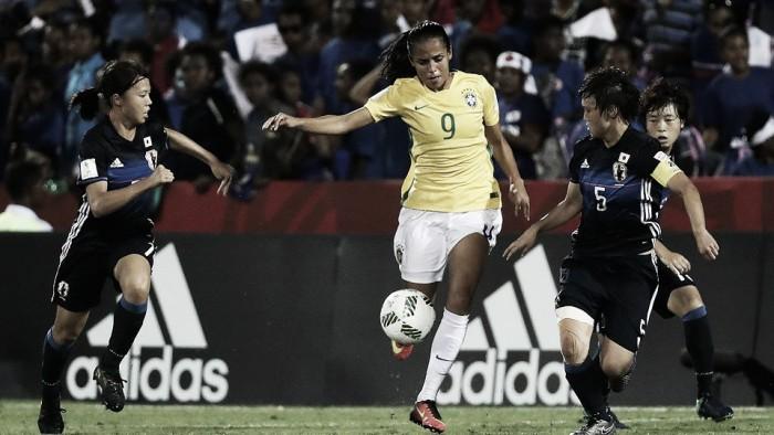 Seleção Brasileira perde para Japão e é eliminada da Copa do Mundo Feminina Sub20