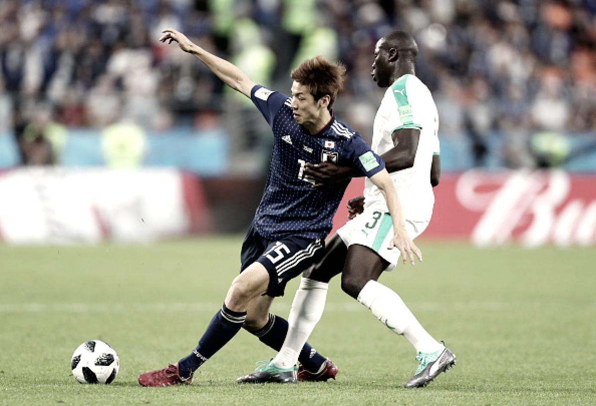 Japão fica atrás duas vezes, mas busca empate com Senegal