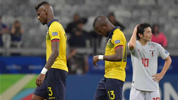 Una tímida Ecuador empató frente a Japón en su última presentación