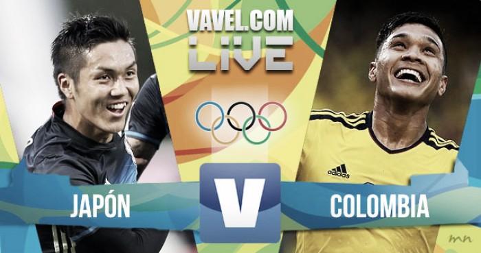 Resultado Colombia vs Japón en los Juegos Olímpicos Rio 2016 (2-2)