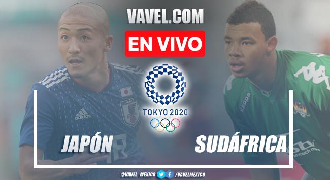 Gol y Resumen del Japón 1-0 Sudáfrica en el inicio de Juegos Olímpicos de Tokio 2020