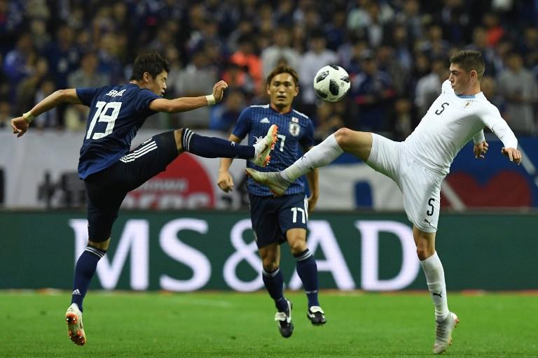 Resultado Uruguai 2 x 2 Japão pela Copa América 2019