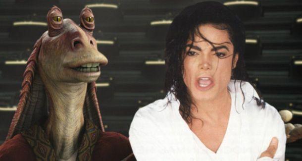 Michael Jackson podría haber encarnado al mítico Jar Jar Binks
