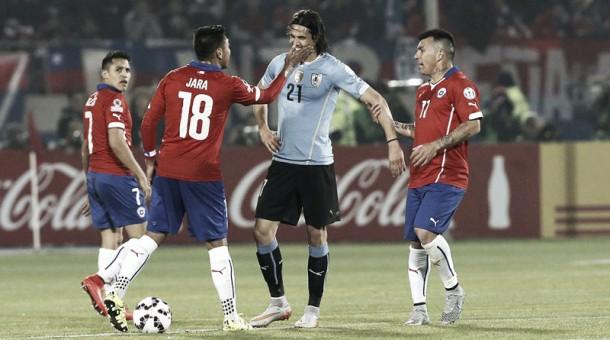 Uruguay - Chile: Un partido con olor a revancha