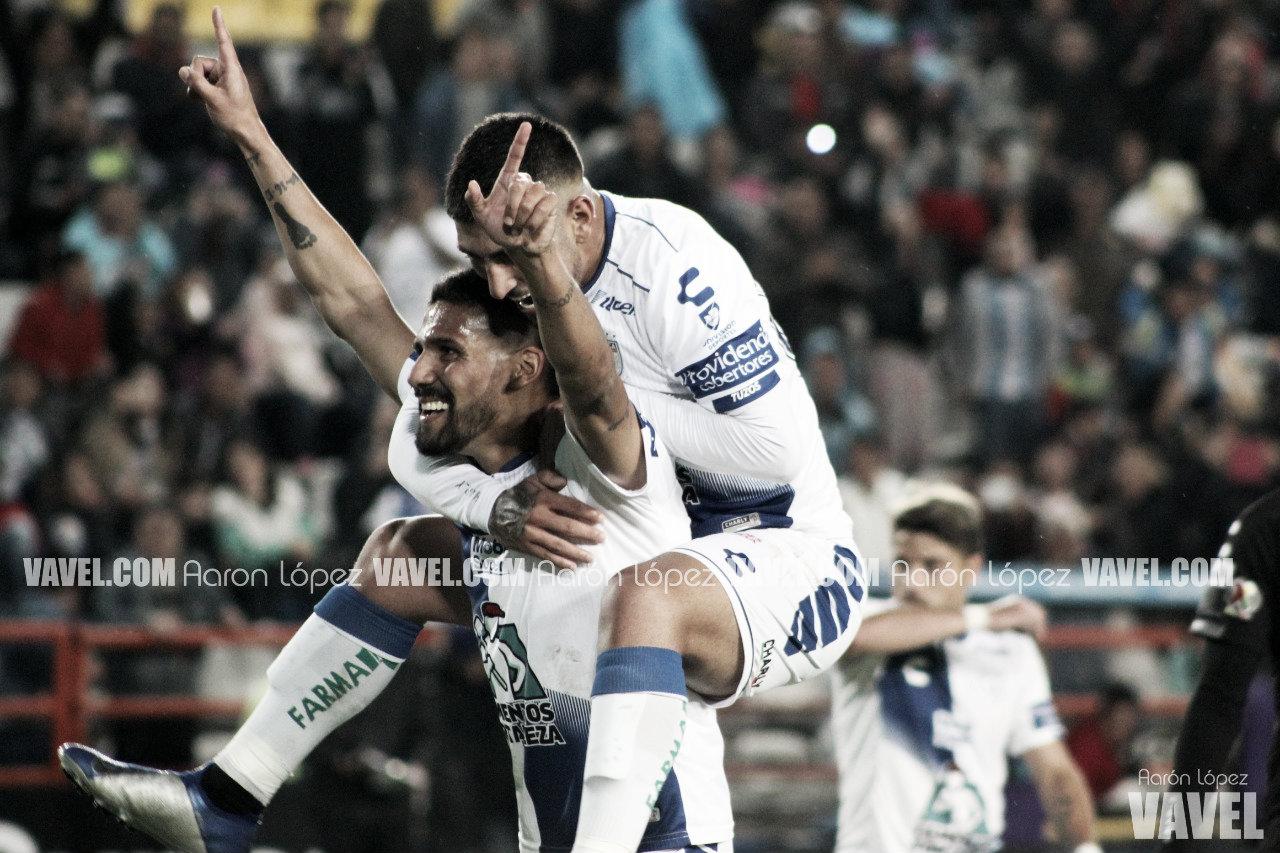 Feria de goles en la victoria blanquiazul
