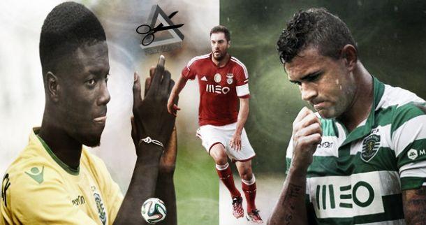 Jardel, Maurício e Sarr: aquém do valor da «Champions»