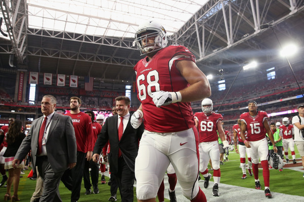 Arizona Cardinals to trade offensive lineman Jared Veldheer