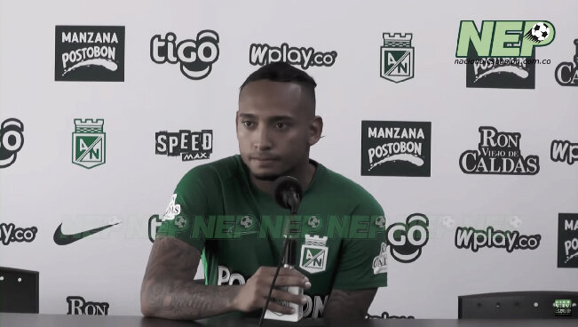 """Jarlan Barrera: """"Siempre intento mostrar el fútbol que me ha caracterizado"""""""