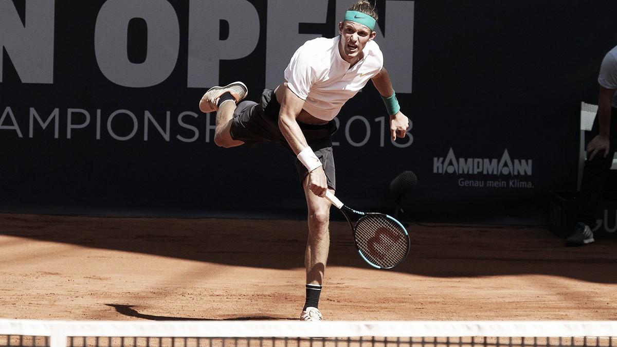Nicolás Jarry surpreende, elimina Dominic Thiem eavança às semifinais em Hamburgo