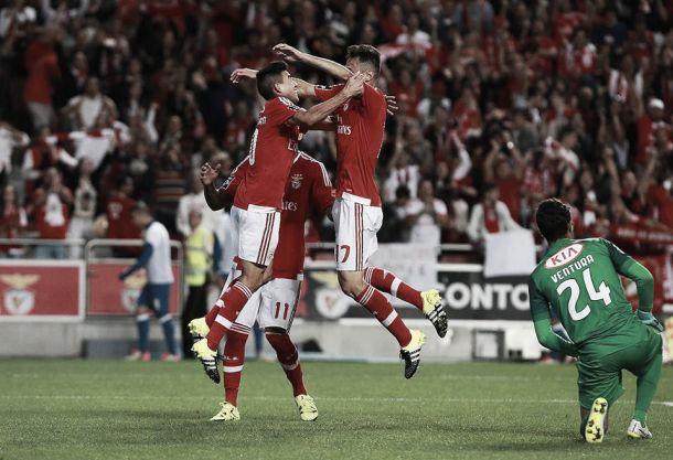Benfica cilindra no «derby»: Agora sim,o campeão voltou