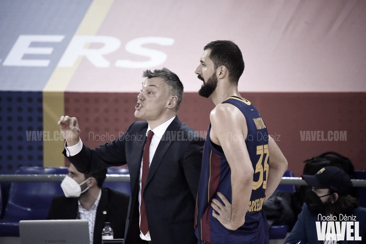 "Saras Jasikevicius: ""No he sido capaz de preparar al equipo como quería"""