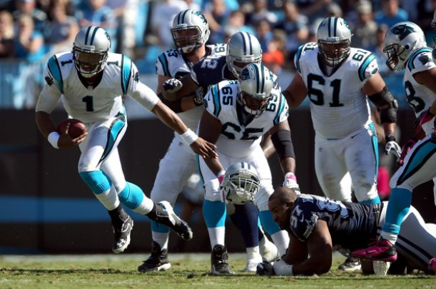 Carolina Panthers vs Dallas Cowboys Live Stream Updates And Score Of NFL 2015 (33-14)
