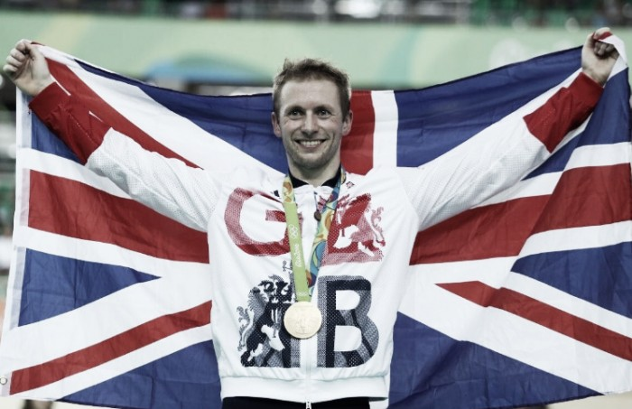 Rio 2016: Jason Kenny wins gold in the Keirin despite disqualification threat