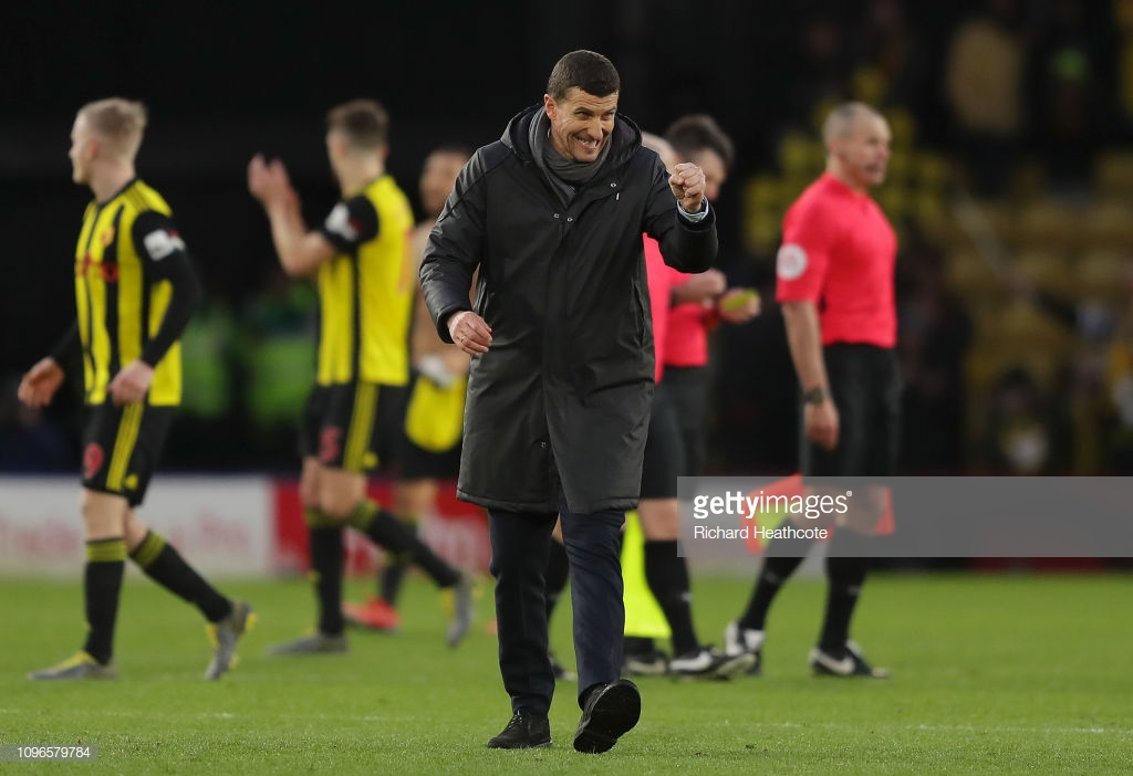 """Javi Gracia: """"I'm happy for all the players"""""""
