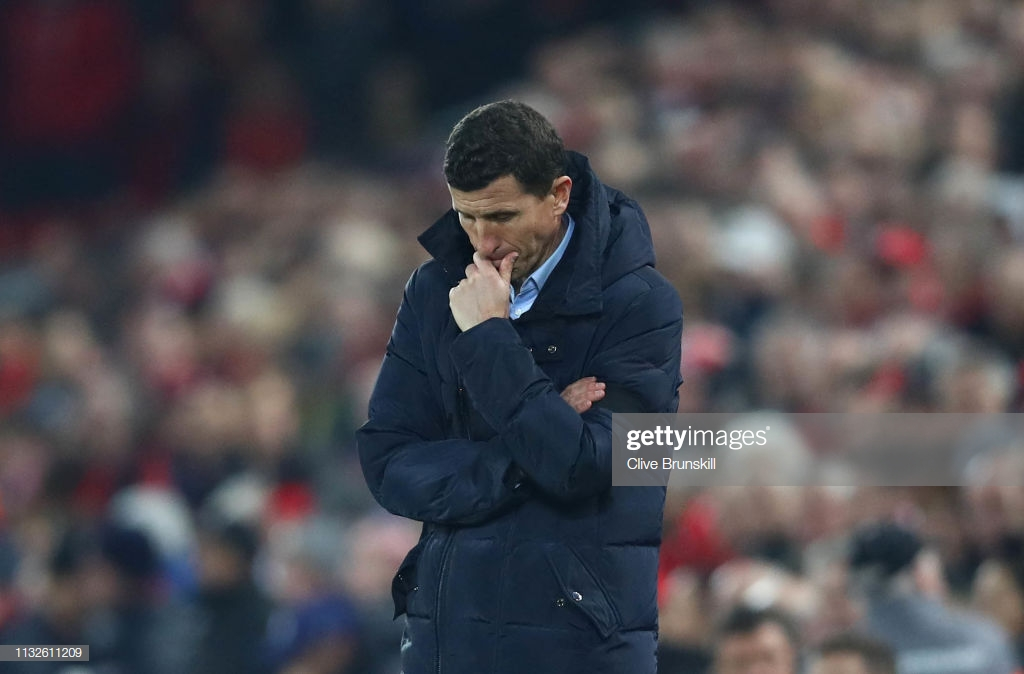 Javi Gracia restates confidence in Watford squad after humbling 5-0 defeat to Liverpool