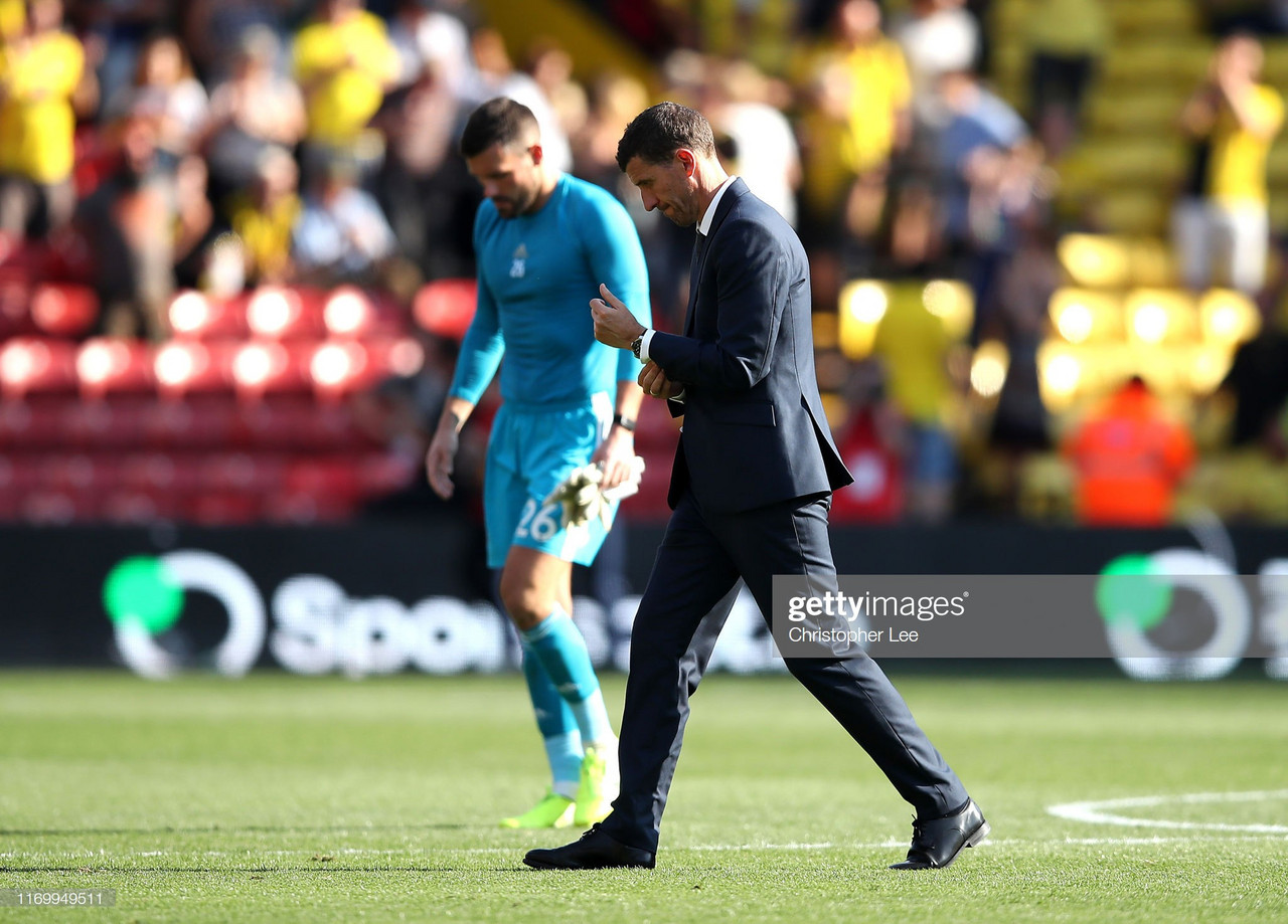 "Gracia believes lack of ""balance"" is hurting Watford"