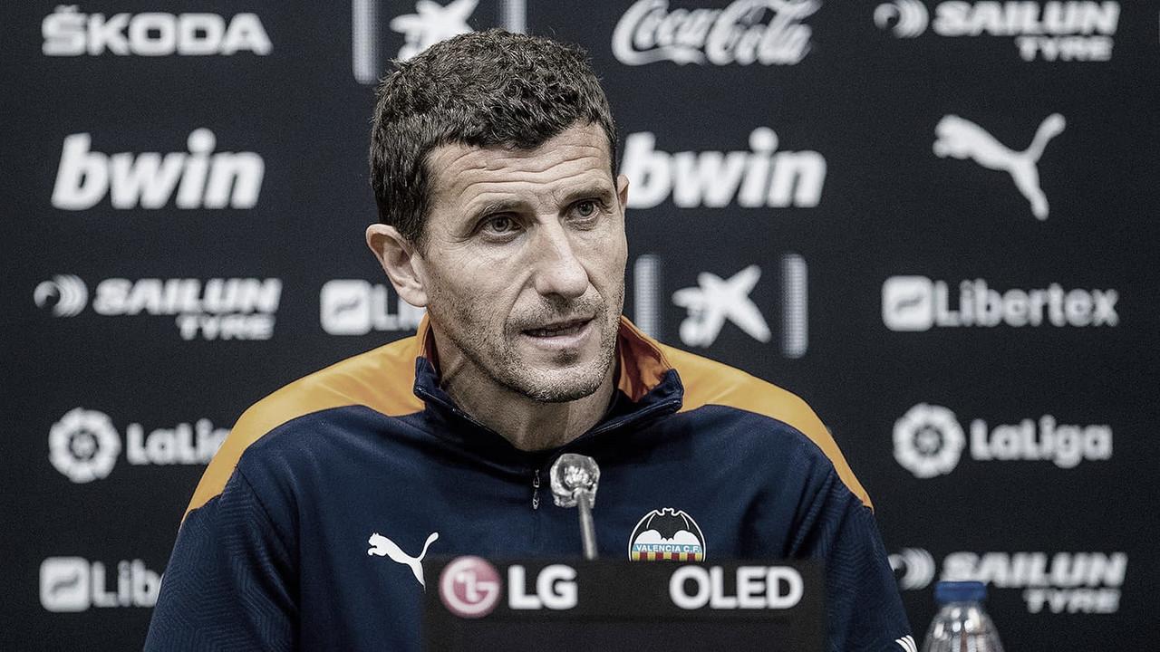 """Javi Gracia: """"Escojo a los que son mejores para el siguiente partido"""""""