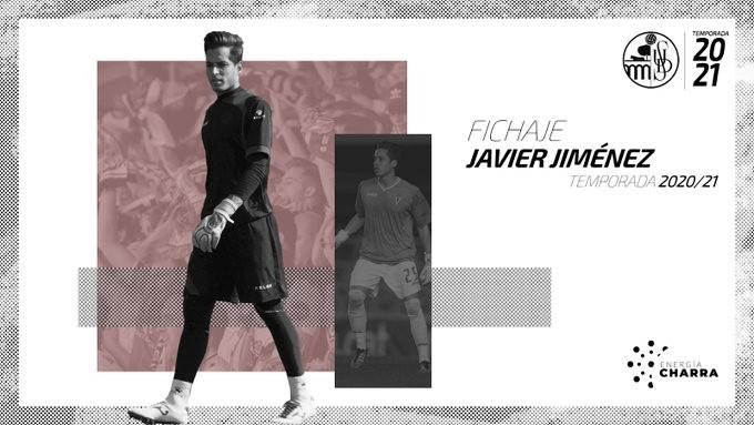 Javi Jiménez será el guardameta del Salamanca CF
