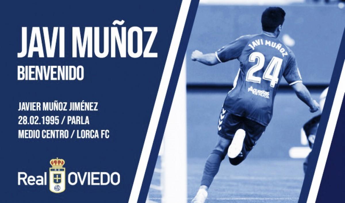 Javi Muñoz, quinto fichaje del Real Oviedo