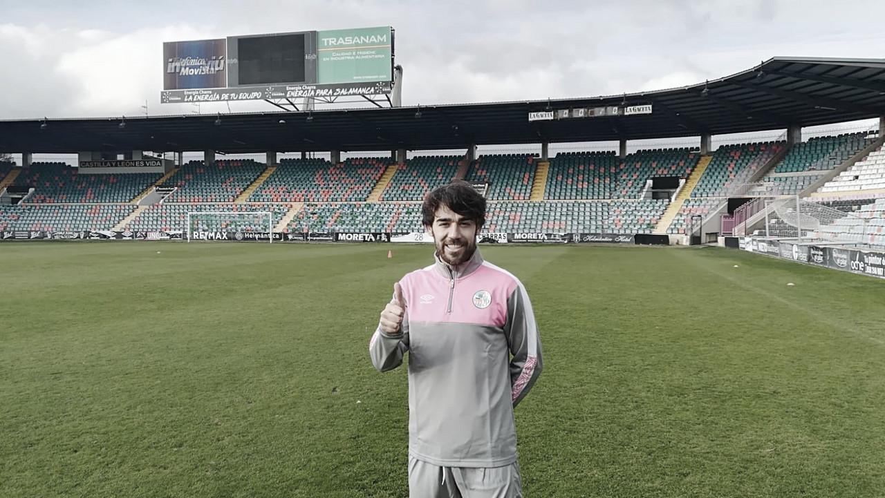 """Javi Navas """"traiciona"""" a Unionistas y se marcha al Salamanca CF"""