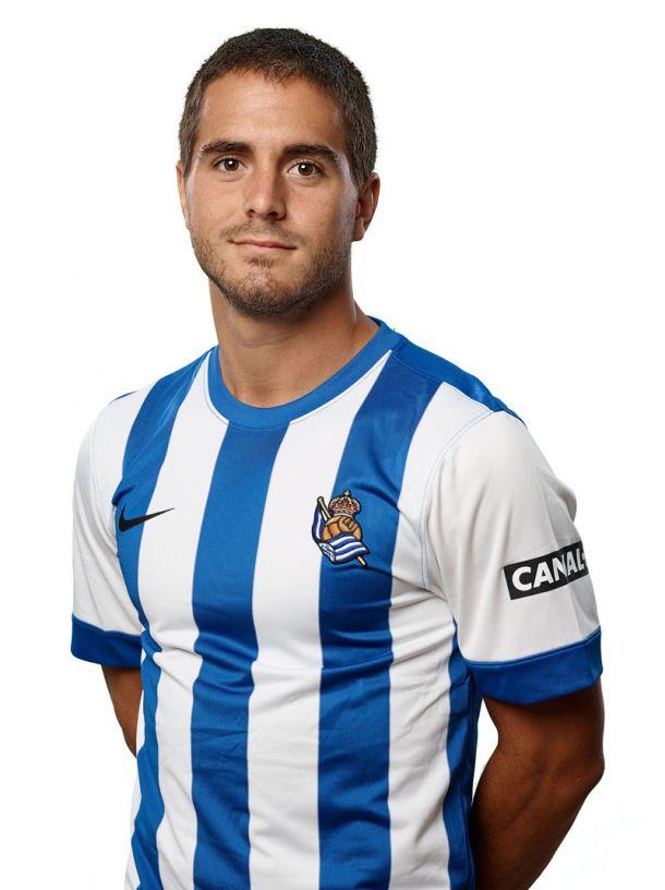 El centrocampista Javier Ros, nuevo jugador del Mallorca
