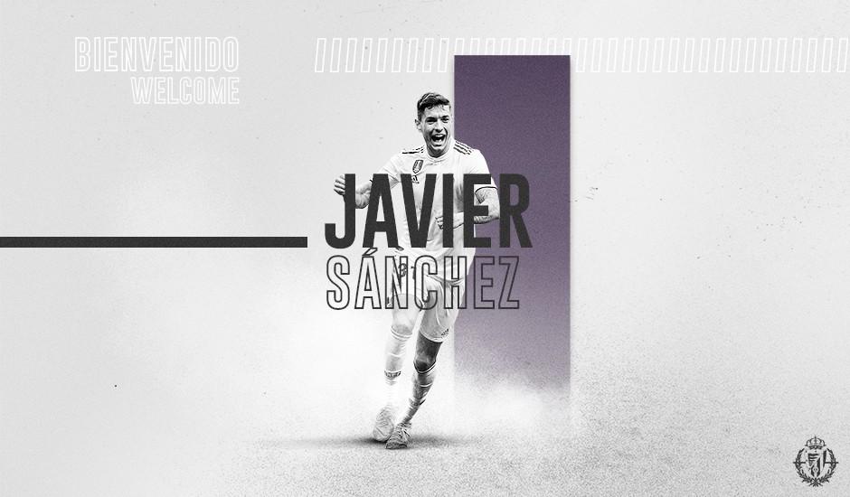 Javi Sánchez cierra la posición de central en el Real Valladolid