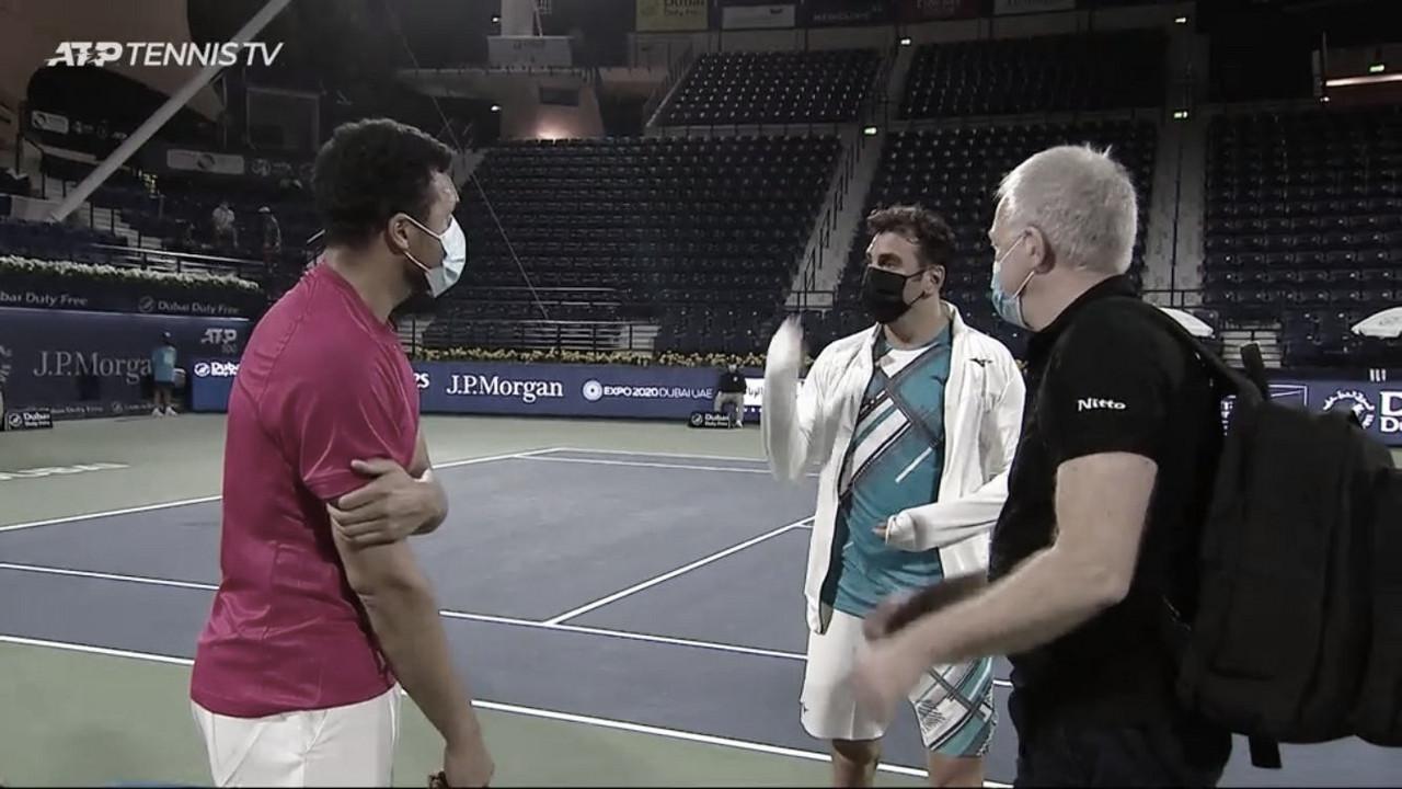 Jaziri vence após desistência de Tsonga; Bublik bate Nishioka no ATP 500 de Dubai