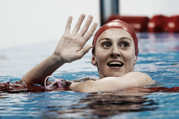 Rio 2016: Jazz Carlin wins second silver in Women's 800m freestyle final