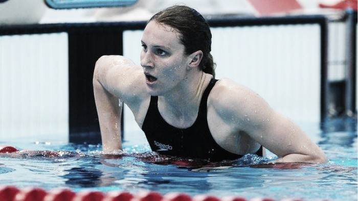 Britain's Jazz Carlin wins swimming silver