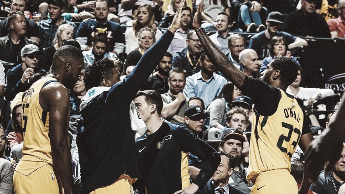 Resumen NBA: Utah y Cleveland afianzan sus posiciones de cara a los 'playoffs'