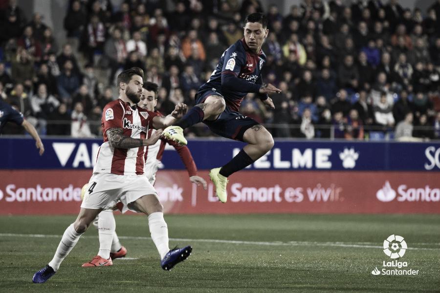 El Athletic le corta las alas a la SD Huesca