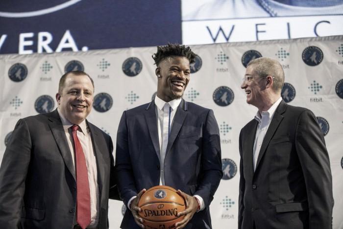NBA, Jimmy Butler accende i Minnesota Timberwolves