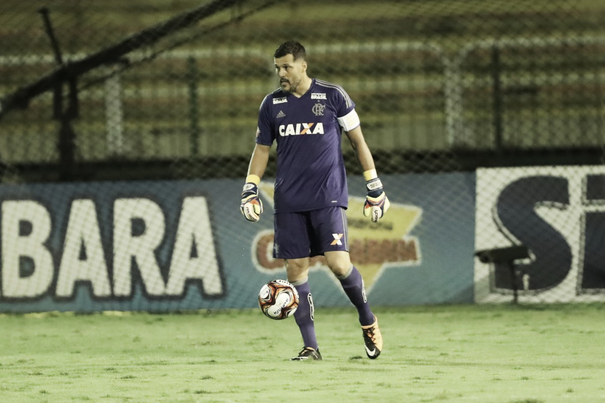 Após 13 anos, Júlio César volta ao gol do Flamengo e afirma: 'Merecia esse retorno'