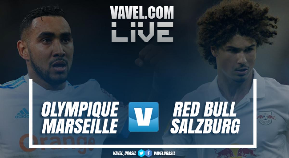 Resultado Olympique de Marseille x Red Bull Salzburg na Uefa Europa League (2-0)