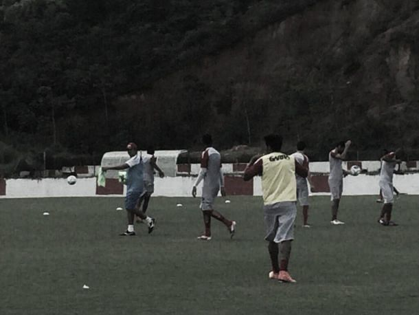 No último treino antes da volta da Série B, Sidney Moraes define time titular do Náutico