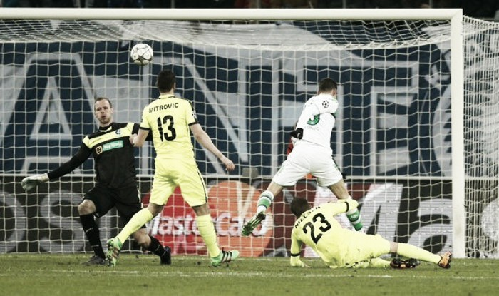 KAA Gent 2-3 VfL Wolfsburg: Die Wölfe's hard work somewhat eroded in ten minutes of madness
