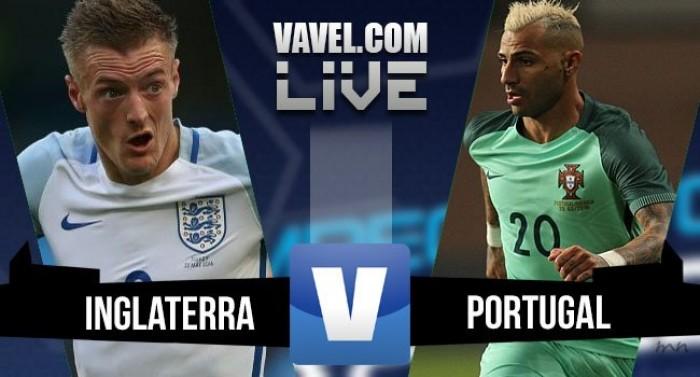 Resultado Inglaterra x Portugal em amistoso para Euro 2016 (1-0)