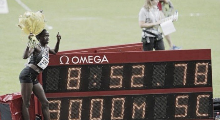 Ruth Jebet shatters 3000m Steeplechase world record during Paris Diamond League, with Kendra Harrison prevailing again