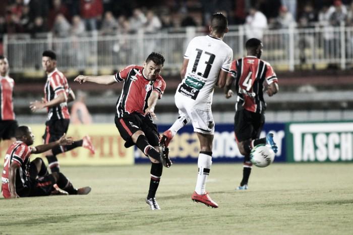 Em duelo de poucas chances, Joinville e Ceará terminam iguais em SC