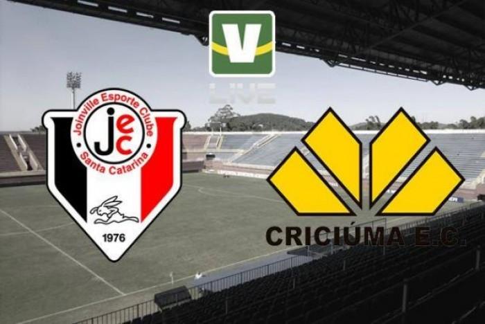 Resultado Joinville x Criciúma na Série B do Campeonato Brasileiro 2016 (0-0)
