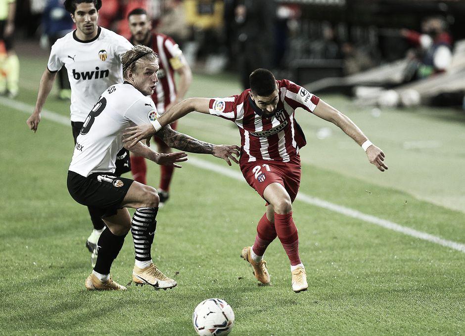 Atlético de Madrid vs Valencia EN VIVO y en directo online en Laliga Santander 2021