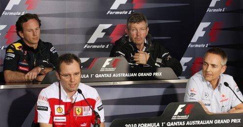 Red Bull no asiste a la reunión sobre el RRA